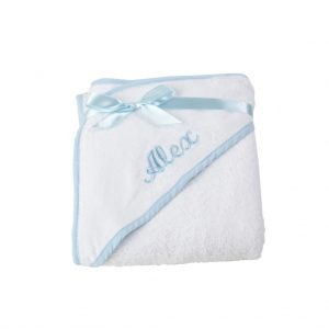 Hooded Towel With Baby's Name