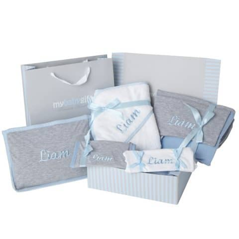 All Personalized Baby Gift Set